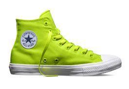 Кеды Converse (конверс) Chuck Taylor All Star II 150157 неон желтые d2a03403687