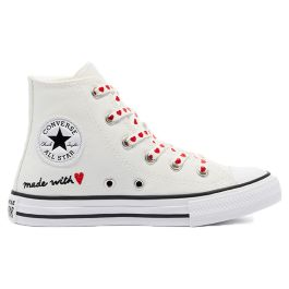 Кеды Converse Love Thread Chuck Taylor All Star High Top 671125 детские белые