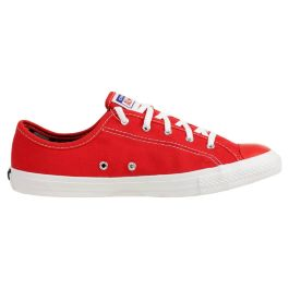 Кеды женские Converse Chuck Taylor All Star Dainty Gs 566773 текстильные красные