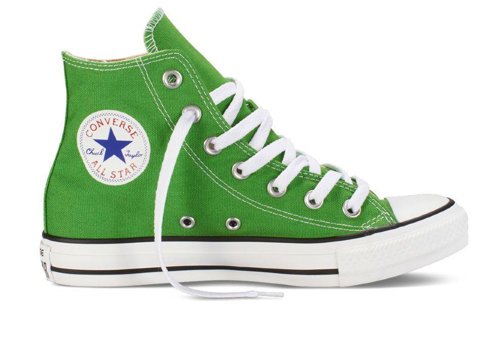 f973defd89a5 Кеды Converse (конверс) Chuck Taylor All Star 142369 ярко-зеленые ...