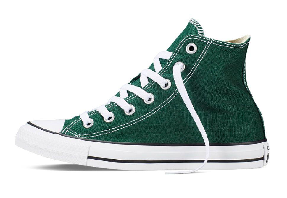 3766e73efedf Кеды Converse (конверс) Chuck Taylor All Star 149513 тёмно-зелёные ...