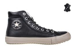 Кожаные кеды Converse Chuck Taylor All Star Boot PC 157462 черные