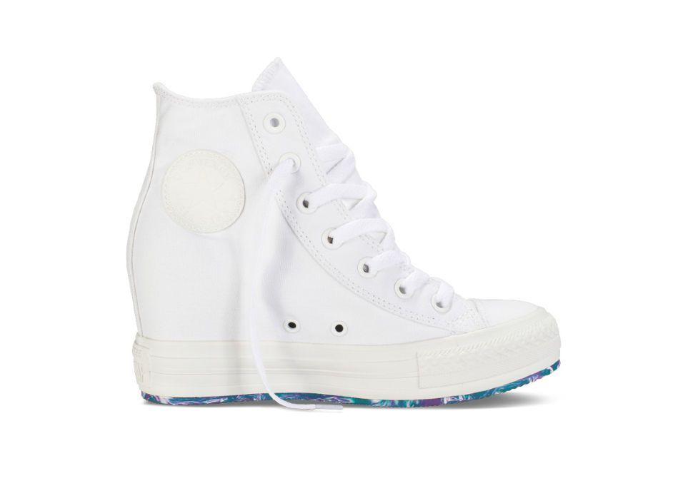 2d75ed0444e7 Женские кеды Converse (конверс) Chuch Taylor All Star Platform Plus 542427  белые