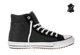 Кожаные кеды Converse Chuck Taylor All Star Boot PC 157496 черные
