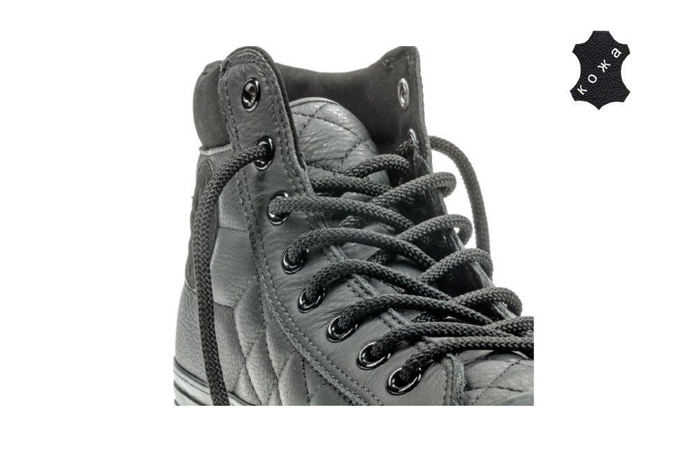 edba0d6b65e6ff Кожаные кеды Converse Chuck Taylor All Star Converse Boot PC 153669 черные