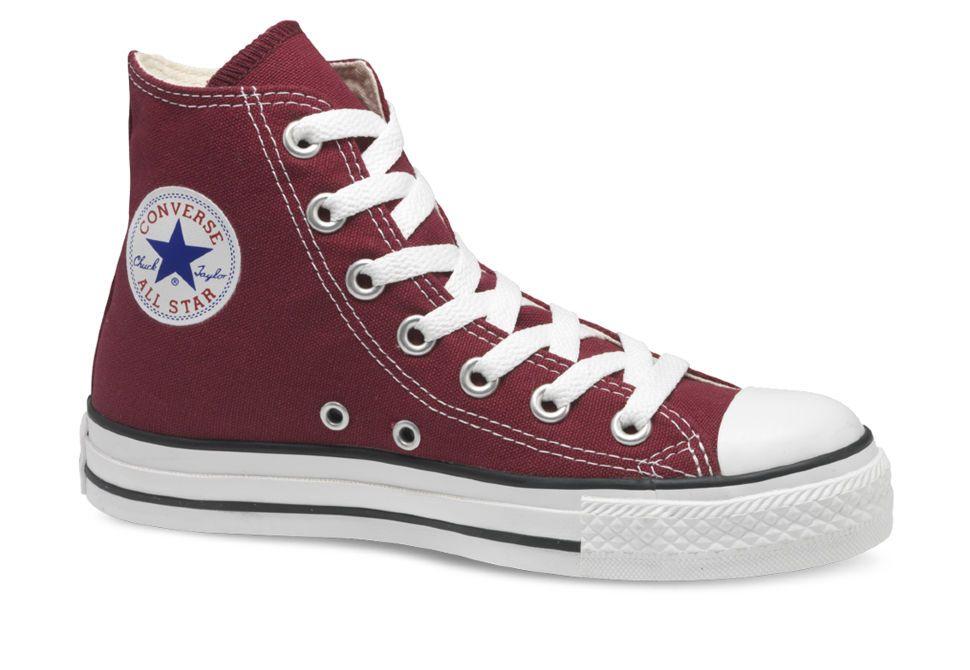 Кеды Converse (конверс) Chuck Taylor All Star M9613 бордовые купить ... 66fee485f3a