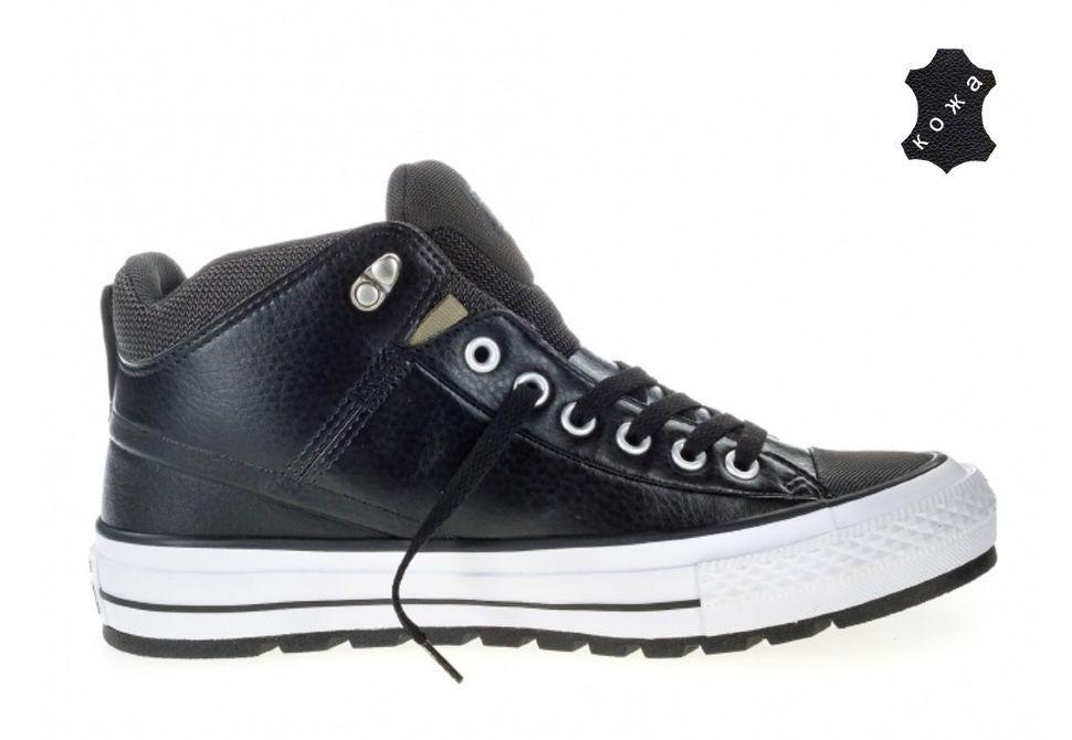Кеды Converse Chuck Taylor All Star Street Boot 157506 черные ... 9ead81d519c