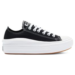 Кеды женские Converse Chuck Taylor All Star Move Low Top 570256 текстильные черные