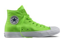 Кеды Converse Chuck Taylor All Star II 151118 неон зеленые