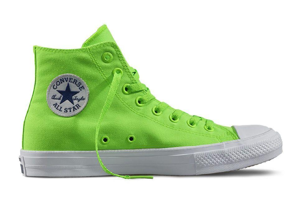 04227d456950 Кеды Converse Chuck Taylor All Star II 151118 неон зеленые — купить ...