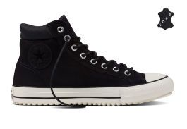Кожаные кеды Converse Chuck Taylor All Star Converse Boot PC 153675 черные