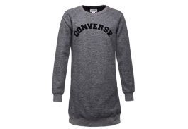 Платье женское Converse Long Sleeve Sweatshirt Dress 10004512001 серая