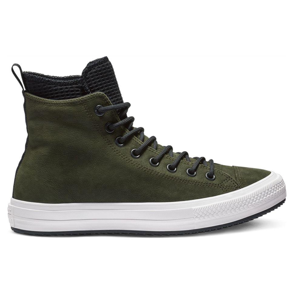 f407cf0aa989 Кеды Converse Chuck Taylor Wp Boot 162408 кожаные зимние утепленные зеленые