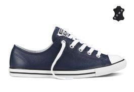 Кожаные Кеды Converse (конверс) Chuck Taylor All Star Dainty Seasonal 549732 Синие