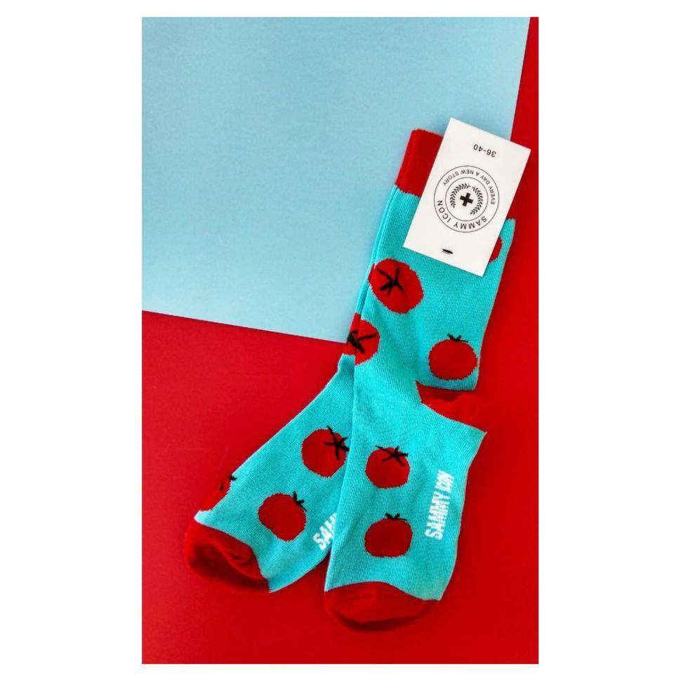Носки женские Sammy Icon Caprese (36-40) с рисунком голубые — купить ... 9b54815fded78