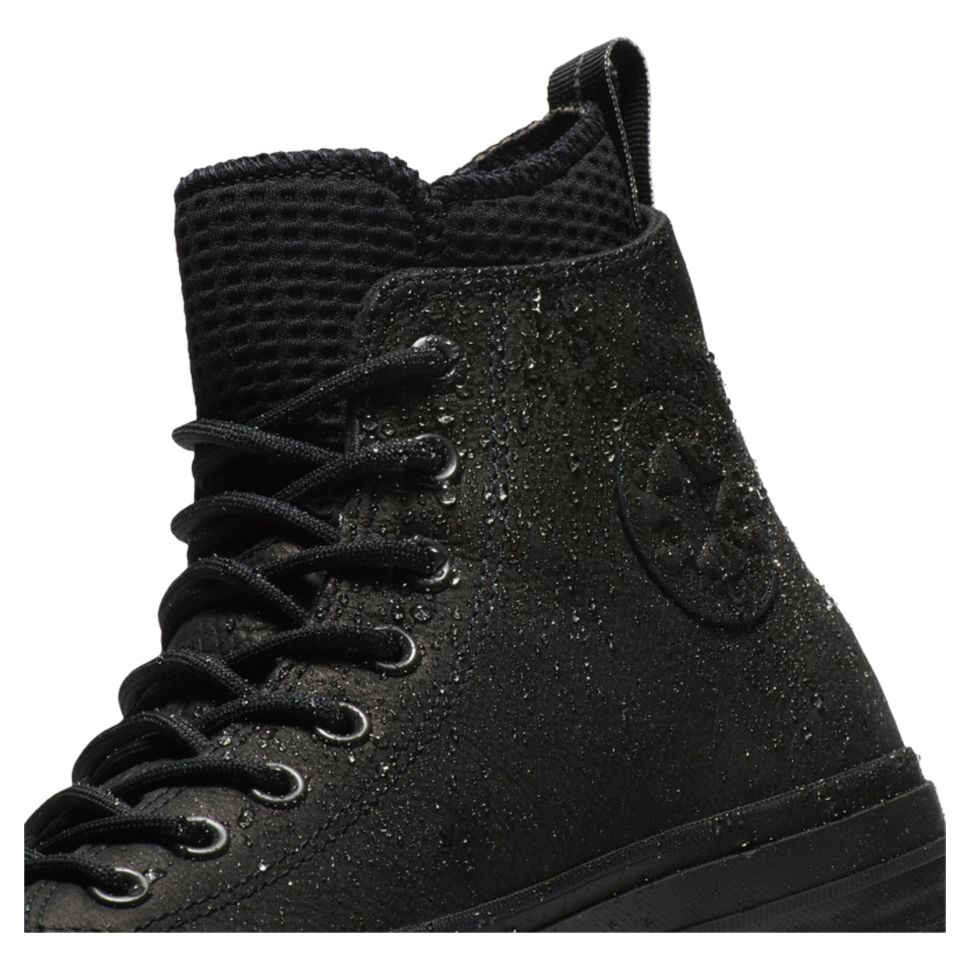 9f754ce8 Кеды Converse Chuck Taylor Wp Boot 162409 кожаные зимние утепленные черные