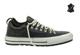 Кожаные кеды Converse Chuck Taylor All Star Descent 153692 черные
