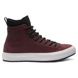 fe52c63e33b5 Кеды Converse Chuck Taylor Wp Boot 162410 кожаные зимние утепленные бордовые