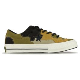 Кеды Converse One Star Camo Hoop Hunter 165916 кожаные