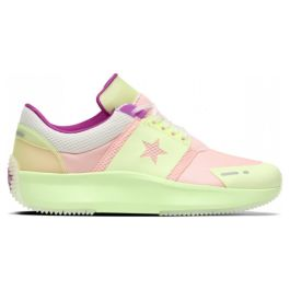 Кроссовки женские Converse Run Star Ox Storm Pink/Barely Volt/Tofu 163115 низкие