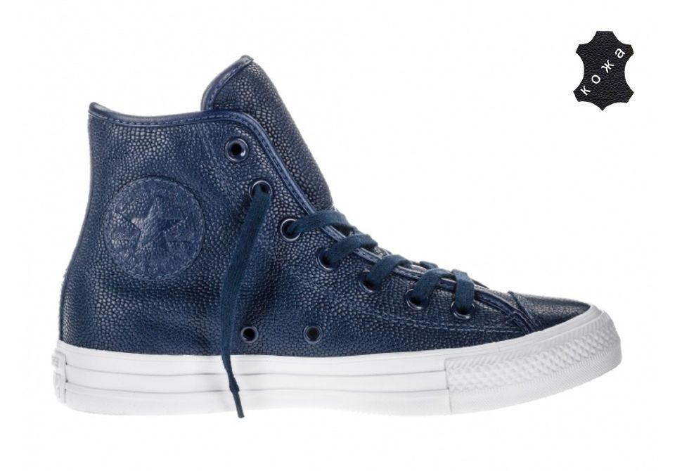 Кеды Converse Chuck Taylor All Star 157635 синие — купить конверсы ... 12a2f0303c8d4