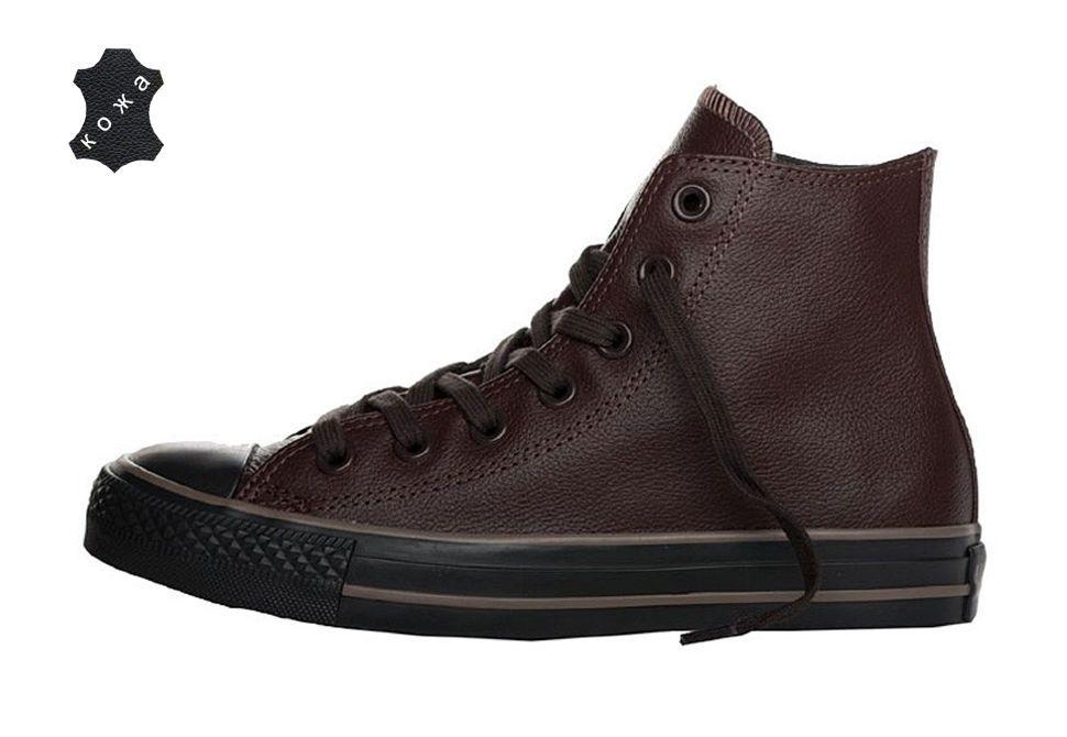 ... Кожаные кеды Converse (конверс) Chuck Taylor All Star 132097 коричневые  dirt cheap 2c488 d11f2 ... 80bb90306721d