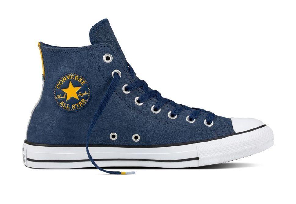 Кожаные кеды Converse Chuck Taylor All Star 159610 синие — купить ... 288f3849dc7