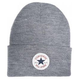 Шапка унисекс Converse Tall Chuck Patch Beanie 10019012039 серая
