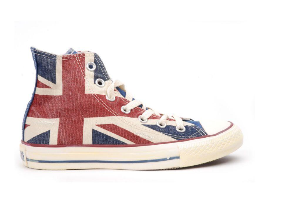 Кеды Converse (конверс) Chuck Taylor All Star 135504 с британским флагом a8ecd3352fd