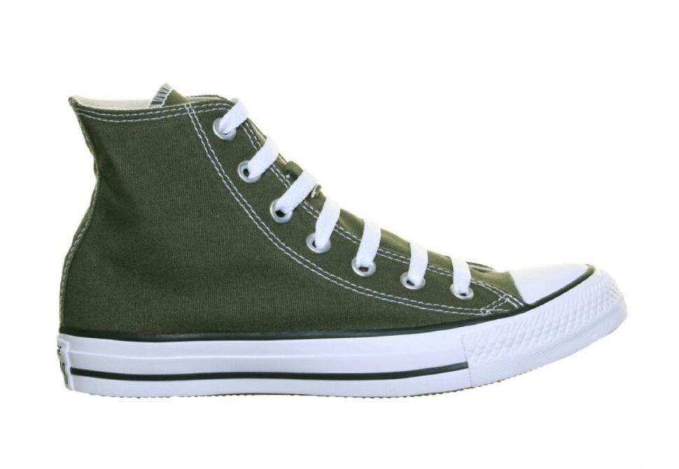 830cab0c8747 Кеды Converse Chuck Taylor All Star 151175 зеленые — купить конверсы ...