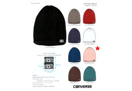 Шапка Converse Solid Slouch Beanie 486192 розовая