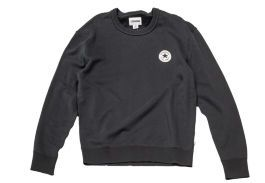 Свитшот мужской Converse Knitted Men's LS crew 10003121001 черный