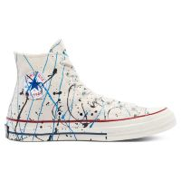Кеды Converse Archive Paint Splatter Chuck 70 High Top 170802 текстильные белые