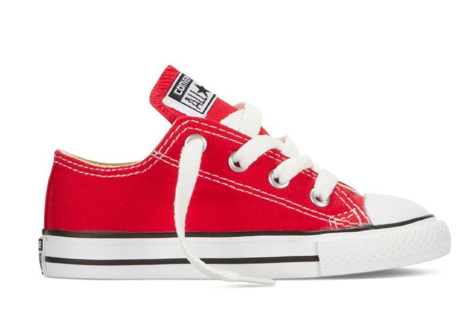 Детские кеды Converse (конверс) Chuck Taylor All Star 7J236 красные ... 63b9ba6da66