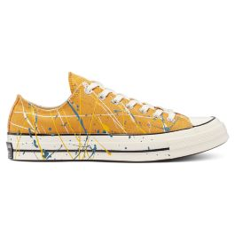 Кеды Converse Archive Paint Splatter Chuck 70 Low Top 170804 текстильные желтые