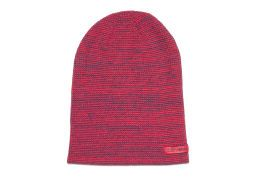 Шапка Converse Twisted Waffle Knit Beanie 486420 красная