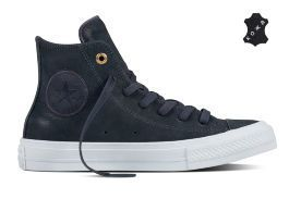 Кожаные кеды Converse Chuck Taylor All Star II 555954 синие