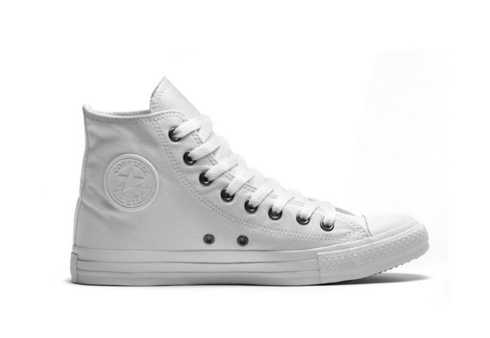 Кеды Converse (конверс) Chuck Taylor All Star 1U646 белые купить по ... 5401e4a1463