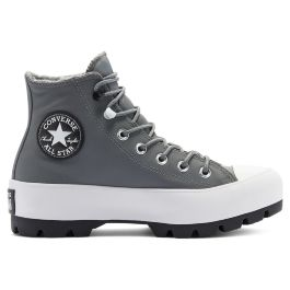 Кеды женские Converse Chuck Taylor All Star Lugged Winter High Top 569555 высокие серые