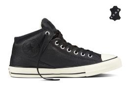 Кожаные кеды Converse Chuck Taylor All Star High Street 157472 черные