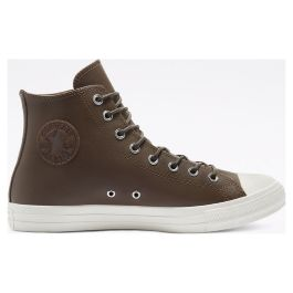 Кеды Converse Colour Leather Chuck Taylor All Star High Top 170101 кожаные коричневые