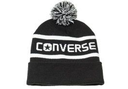 Шапка Converse WORDMARK POM KNIT 562261 черный
