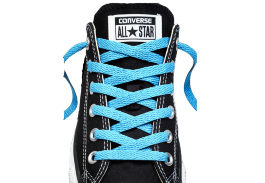 Шнурки converse (конверс) Low-Top Replacement голубые 114 см