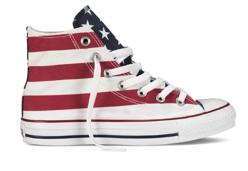 Кеды Converse (конверс) Chuck Taylor All Star M8437 с американским флагом 281cf747469