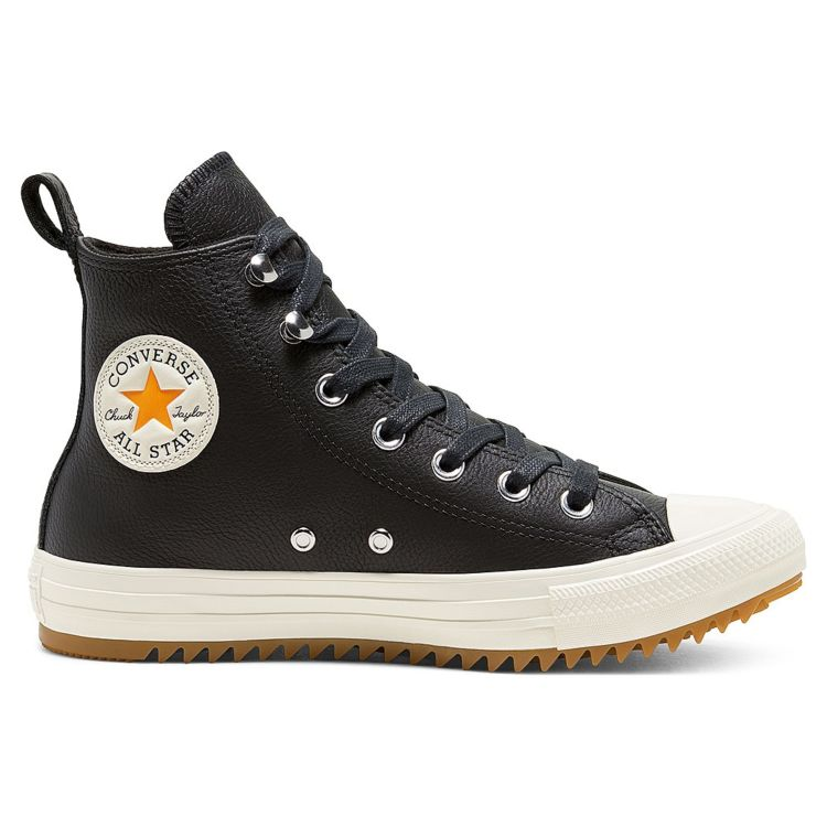 Кеды женские Converse Leather And Warmth Chuck Taylor All Star Hiker High Top 568813 кожаные черные