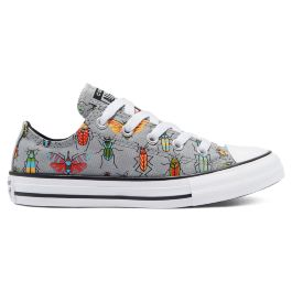Кеды Converse A Bug'S World Chuck Taylor All Star Low Top 670705 детские серые