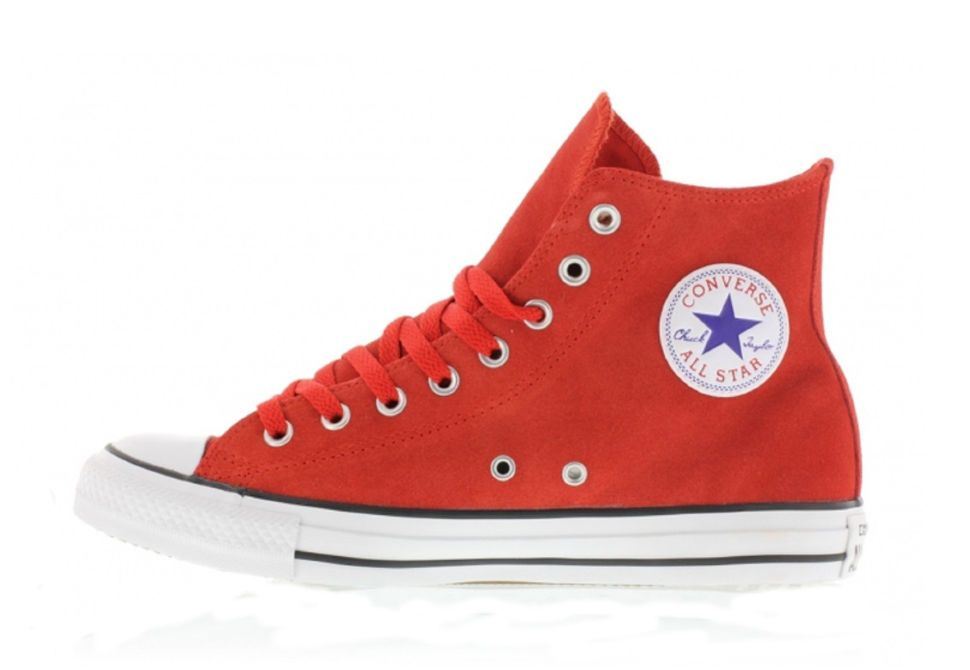 f890c35b47dd Кожаные кеды Converse (конверс) Chuck Taylor All Star 144672 красные ...