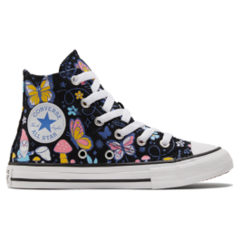 Кеды Converse Butterfly Chuck Taylor All Star High Top 670711 детские разноцветные