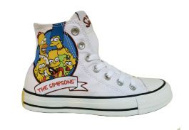 Кеды Converse (конверс) The Simpsons Chuck Taylor All Star 146809 с принтом