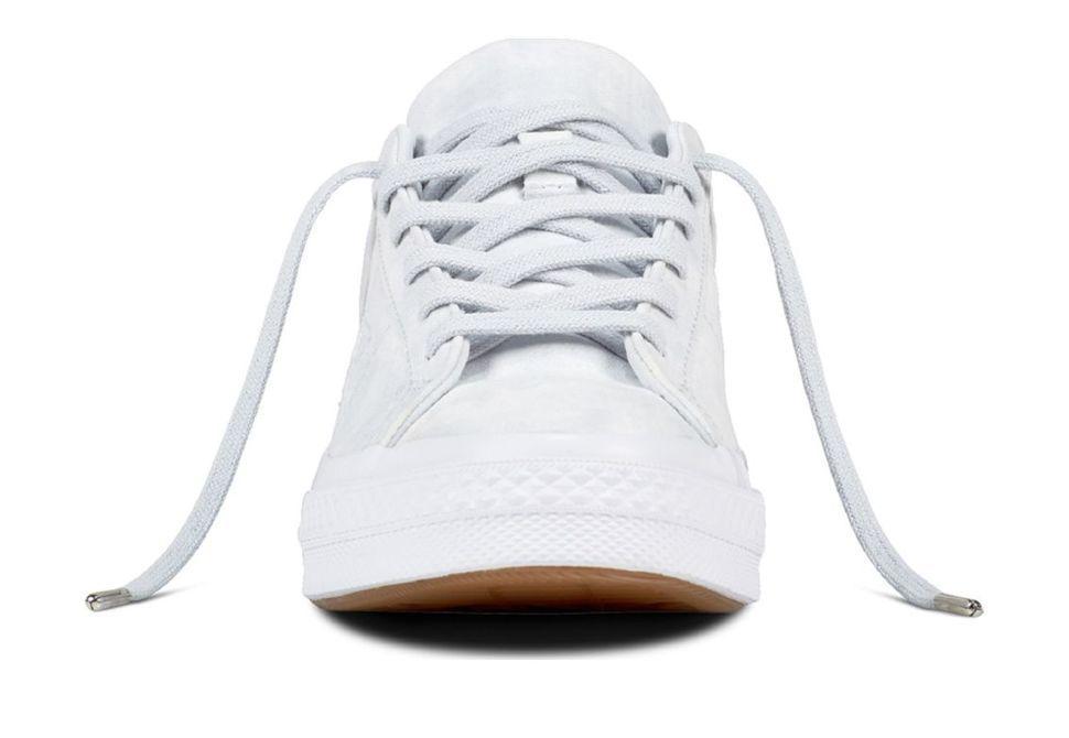 Кожаные кеды Converse One Star 159694 белые — купить конверсы за 6 ... 6e6309059de